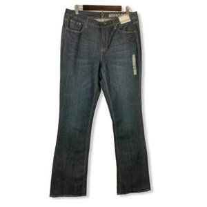 New York & Company Low Rise Curvy Bootcut Jeans Women's Size 12 Tall